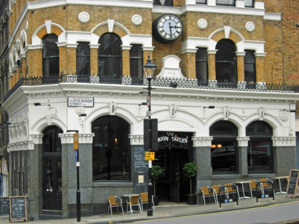THE UNION TAVERN, CLERKENWELL